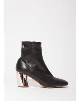 Metal Heel Boot