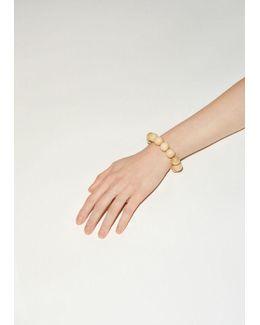 Lacquered Wood Bracelet