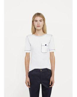 Button Pocket T-shirt