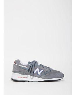 997 Suede Mesh Sneakers