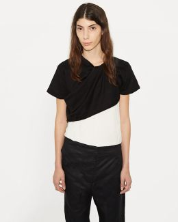 Twisted Knit Tee