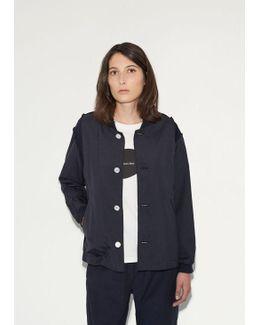 Tropical Wool Varsity Jacket