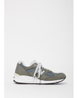 990 Nubuck Mesh Sneakers