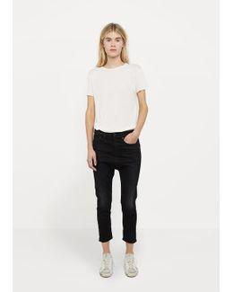 The Drop Crop Jeans