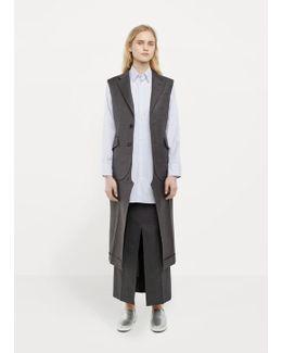 Tropical Wool Suit Vest