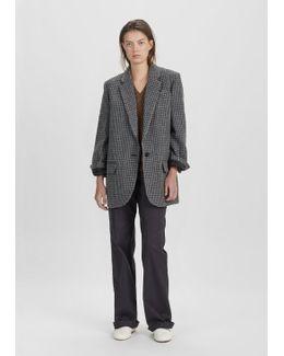 Irox Oversized Tweed Jacket