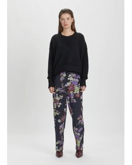 Isley Printed Silk Pants