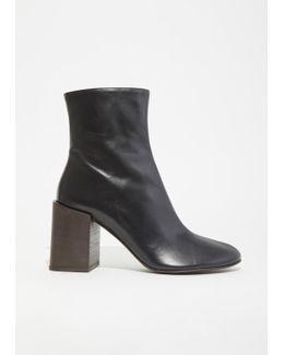 Saul Block Heel Boots