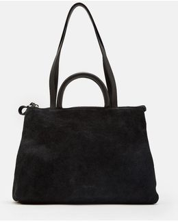 4 Dritta Distressed Suede Bag