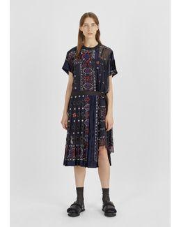 Bandana Pattern Dress