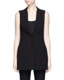 Crepe Suiting Vest