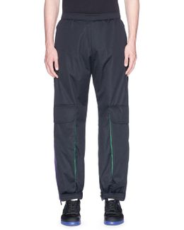 Contrast Outseam Gusset Track Pants