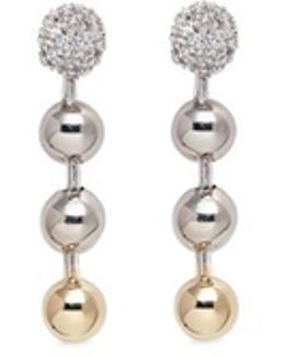 Short Ball Chain Drop Earrings