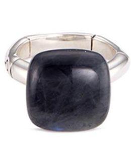 'orb' Labradorite Silver Ring