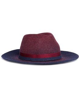 'tuileries' Ombré Wool Felt Fedora Hat