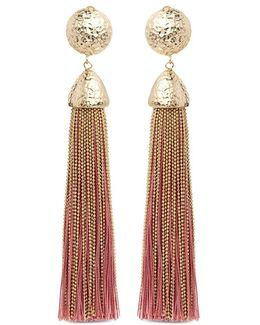 Tassel Clip Earrings