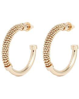 'orissa' Beaded Hoop Earrings