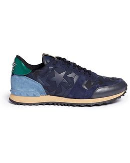 Camustars Rockrunner Leather Patch Sneaker