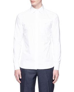 Western Chest Pocket Hopsack Shirt
