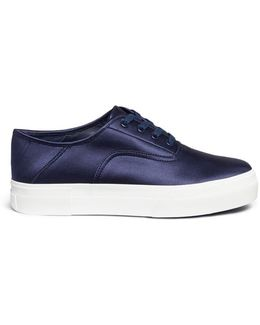 'copley' Satin Flatform Sneakers
