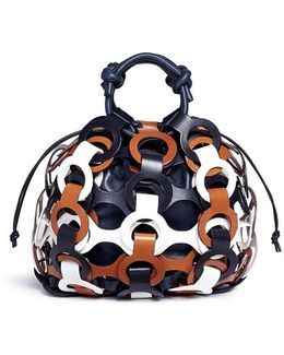 'the Alta' Interlocking Loop Leather Tote