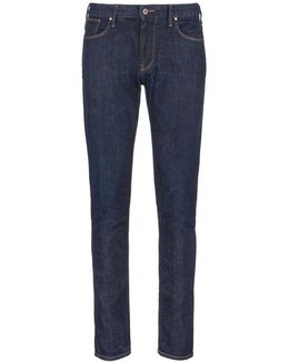 Slim Fit Raw Jeans