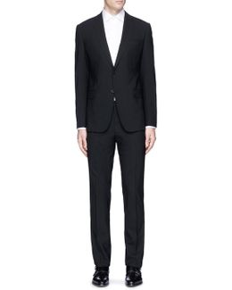 'metropolitan' Virgin Wool Suit