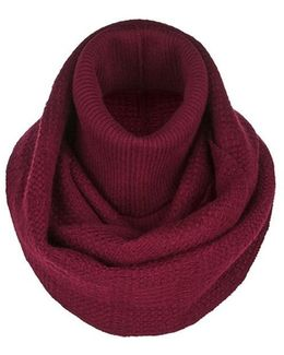 Wool Blend Knit Snood