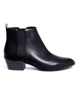 'crosby' Leather Chelsea Boots