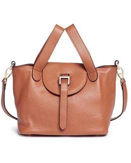 'thela' Mini Leather Crossbody Bag