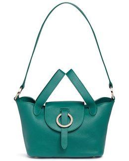 'rose Thela' Mini Calfskin Leather Crossbody Bag