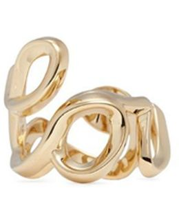 'love' Cursive Writing Ring