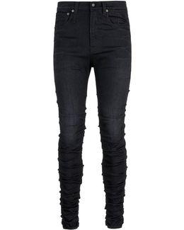 'skywalker' Ruched Skinny Jeans