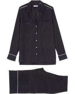 'sonny' Silk Crepe Pyjama Set