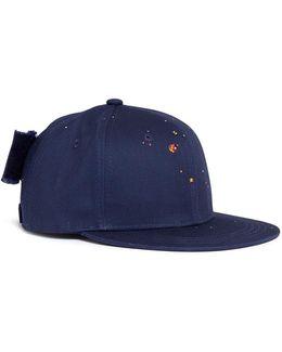 Swarovski Crystal Embellished Baseball Cap