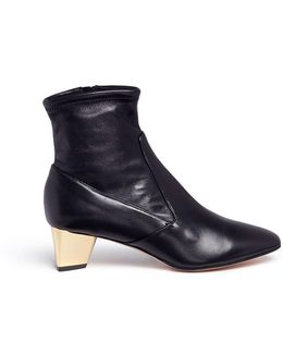'prism' Leather Ankle Boots