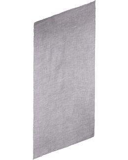 Plissé Cashmere-silk Scarf