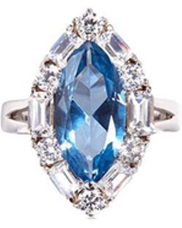 Cubic Zirconia Marquise Ring