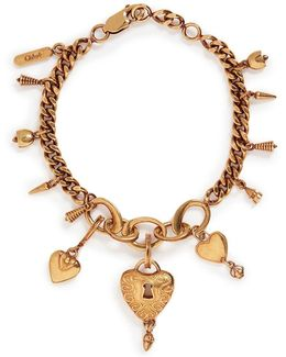 'collected Hearts' Charm Bracelet