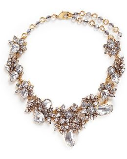 'valley Of The Dolls' Swarovski Crystal Cluster Necklace