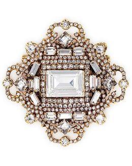 'fantastic Voyage' Swarovski Crystal Brooch