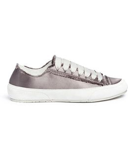 'parson' Satin Platform Sneakers