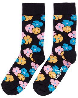'kimono' Floral Socks
