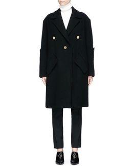 'janice' Cocoon Sleeve Oversized Coat