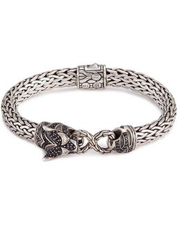 Sapphire Spinel Topaz Silver Macan Bracelet
