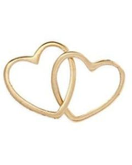 'linked Hearts' 18k Yellow Gold Charm – Always Together