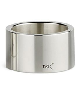 'le 19 Grammes' Polished Sterling Silver Ring