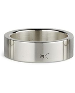 'le 9 Grammes' Polished Sterling Silver Ring