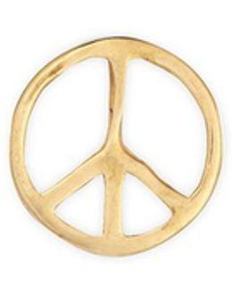 'peace' 18k Yellow Gold Charm – Serenity