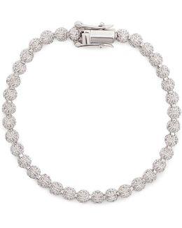 Cubic Zirconia Pavé Mini Cone Bracelet